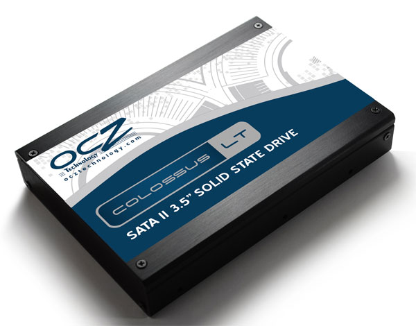 OCZ Launches Colossus LT SSDs