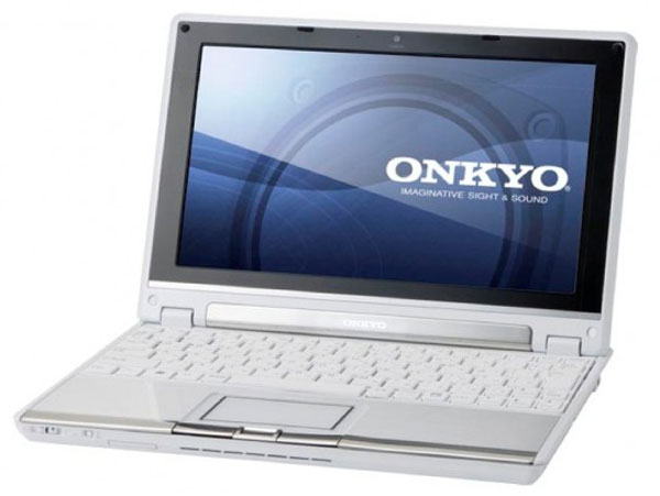 Onkyo MX1007A4 Netbook Offers 14.4 Hour Battery Life