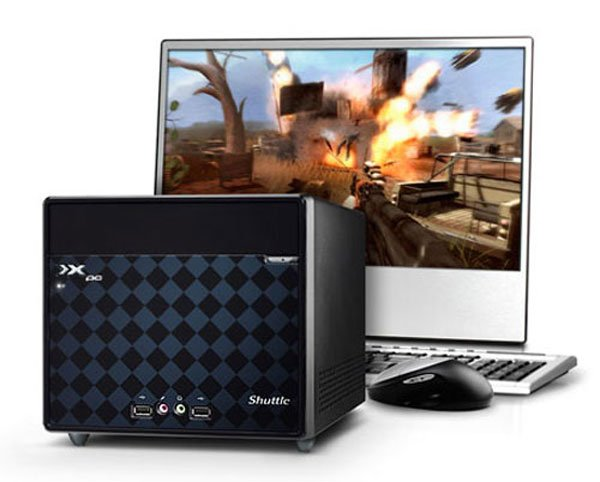 Shuttle J1 4100G SFF Gaming PC