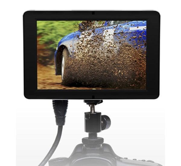 Small HD DSLR Camera Mounted HD LCD Display