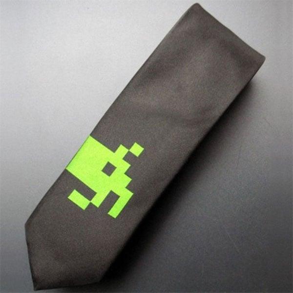 Space Invaders Necktie