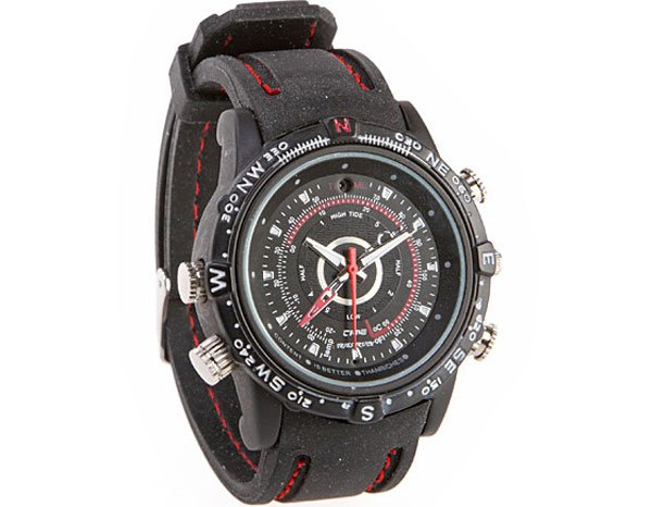 Spy Camera Sports Watch
