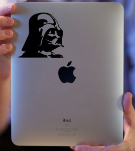 Star Wars iPad Decals