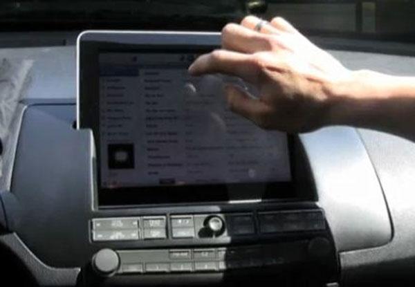 Dash Mounted iPad Version 2