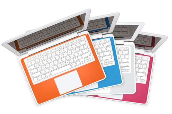 Twelve South SurfacePad Colors For the MacBook