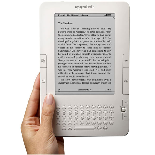 Amazon Adds Twitter And Facebook To Kindle 2.5 Update