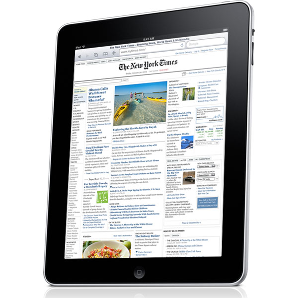 Apple iPad 3G Will Land On April The 30th 2010