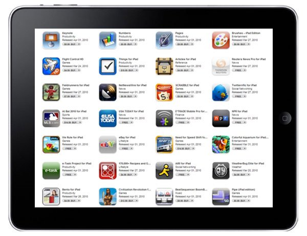 iPad Apps Are Live In Apple's App Store