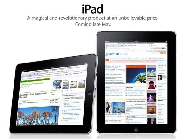 Apple iPad UK Pre-Order 10th Of May 2010