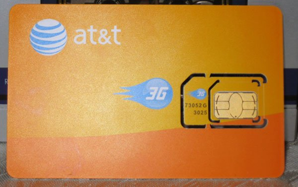 AT&T Launches New Micro SIM Cards For Apple iPad