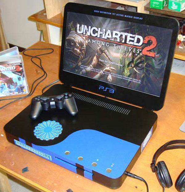 Ben Heck's New PS3 Slim Laptop