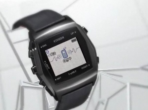 Citizen i:Virt Bluetooth Watch Lelts Your Read Texts From Your Mobile Phone