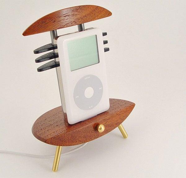 Custom Wood And Metal iPhone And iPod Docks