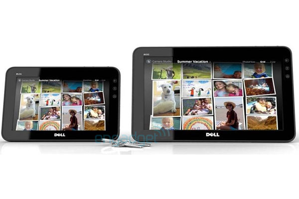 Dell's 7 Inch And 10 Inch Streak Tablets
