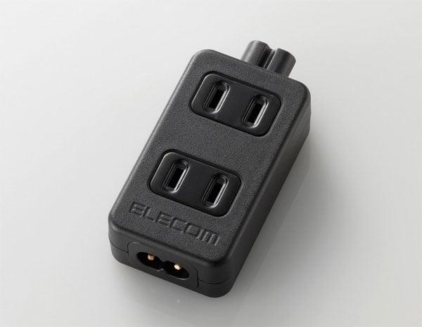 Elecom Adatper Turns Your Notebook PSU Into A Power Outlet