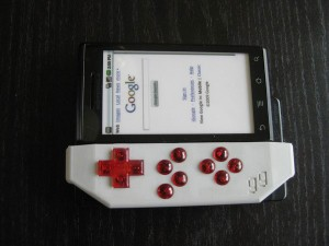 Game Gripper Motorola Droid Gaming Accessory