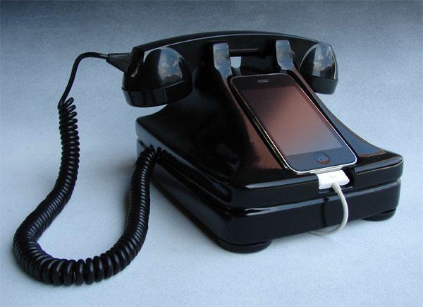 iRetrofone Rotary iPhone Dock