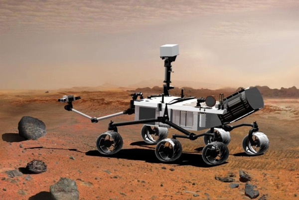 pictures of mars rover. Mars rover named Curiosity