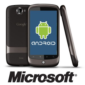 Microsoft Claims Google's Android Infringes On its Patents