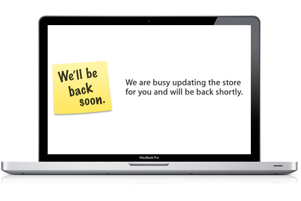 Apple Store Is Down, New MacBook Pro's On The Way?