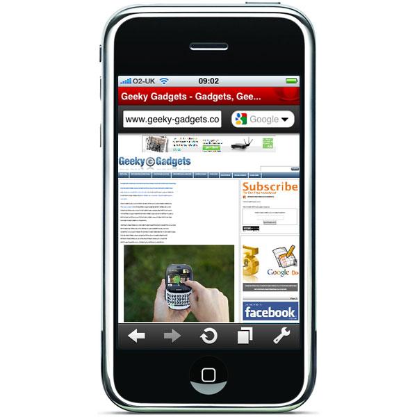 Opera Mini iPhone App Hits One Million Downloads