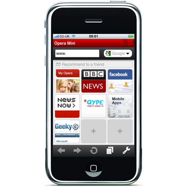 Opera Mini iPhone App Gets Approved By Apple