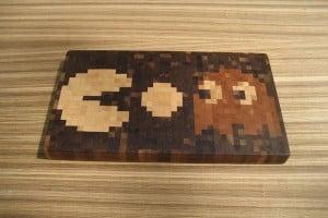The Pac-Man Cutting Board