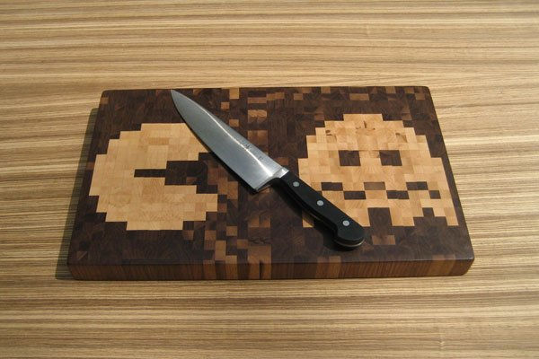 excellent design cool cutting boards.  The Pac Man Cutting Board