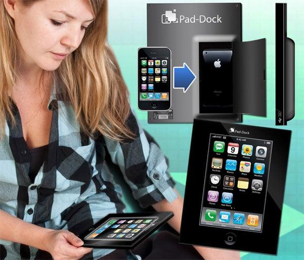 Pad Dock Turns Your iPhone Into An iPad