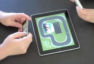 PadRacer iPad Game Uses iPhone As Its Controller