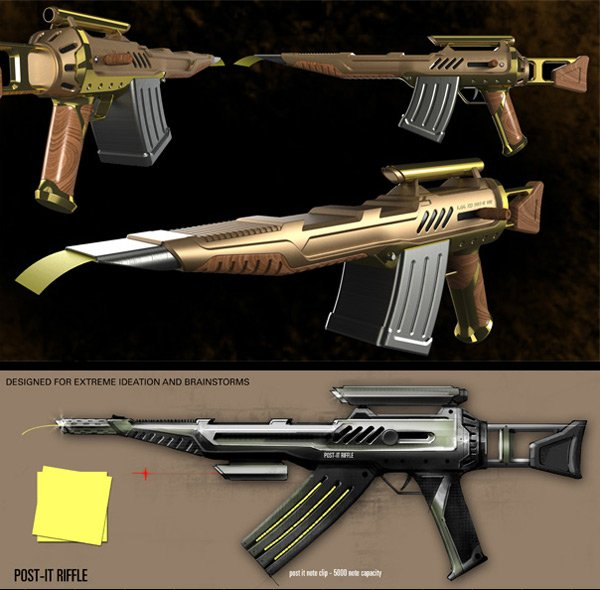 awesome new assault rifle
