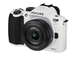 Samsung Launching Limited Edition White NX10 Hybrid DSLR