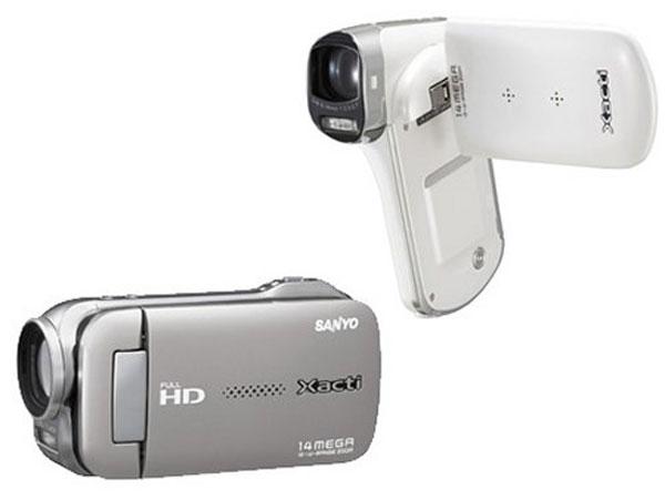Sanyo Adds Two New HD Camcorders To Its Xacti Range