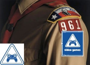 Cub Scouts Offering A Video Game Badge