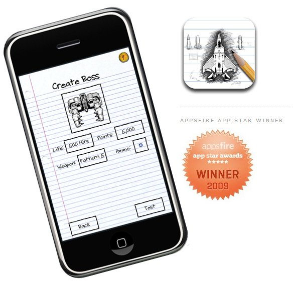 Sketch Nation Shooter Allows you to design your own iPhone ...