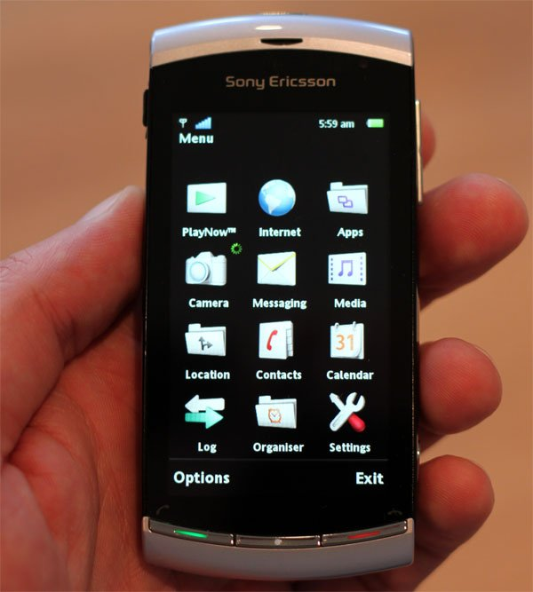 Sony Ericsson Vivaz Mobile Phone Review