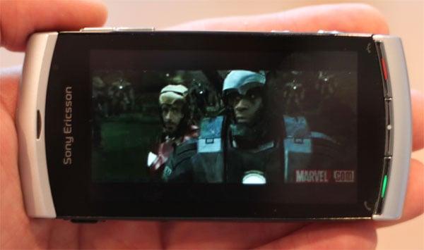 DRAFT - Sony Ericsson Vivaz Mobile Phone Review