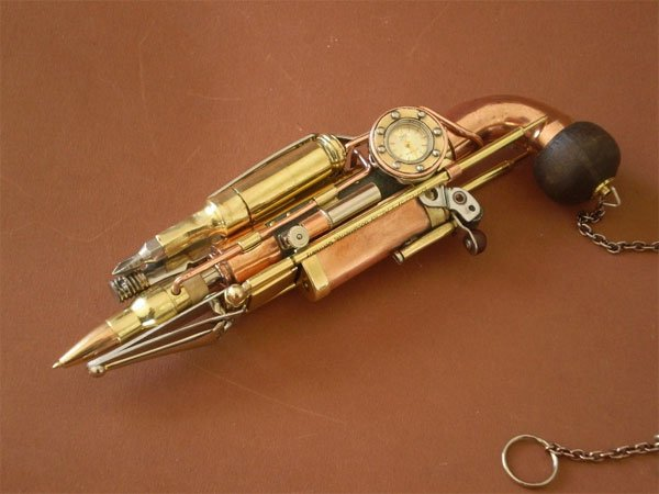Steampunk Gun Has More Tools Than Your Swiss Army Knife