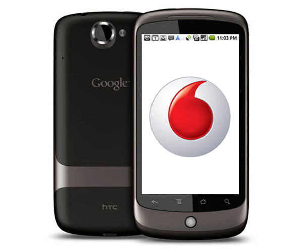 Vodafone UK Selling Google Nexus One From 30th April 2010