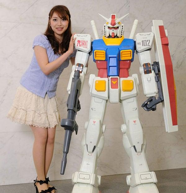 1.5M Tall Gundam Will Cost You $3,400