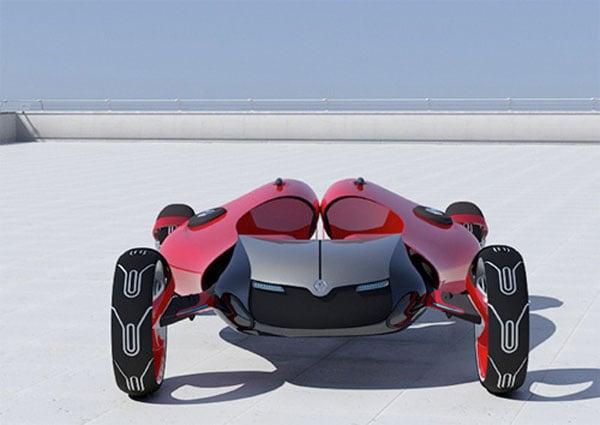 2 Bike Concept Car