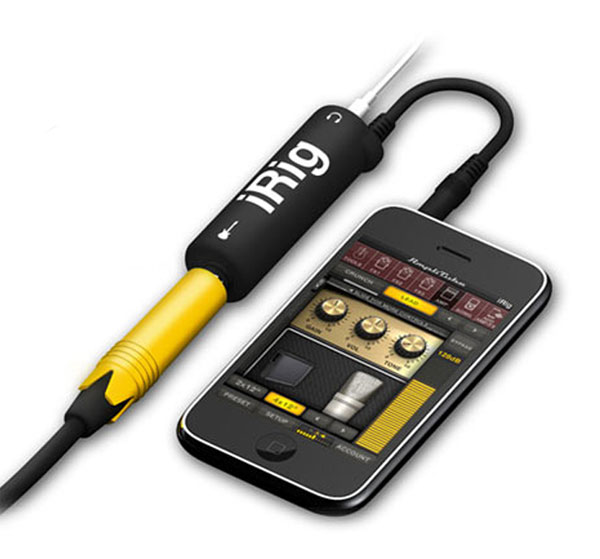 AmpliTube iRig For iPhone, iPad And iPod Touch
