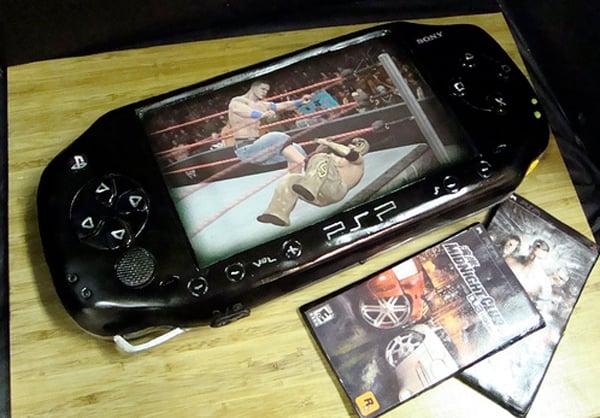 Awesome Sony PSP Cake