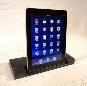 Custom Wooden iPad Docks