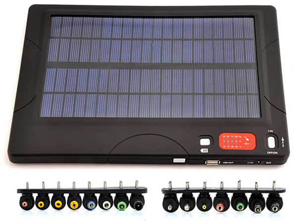 High Capacity Solar Battery Charger