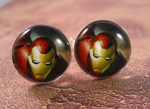 Iron Man Cufflinks Add Some Geeky Style To Your Wardrobe