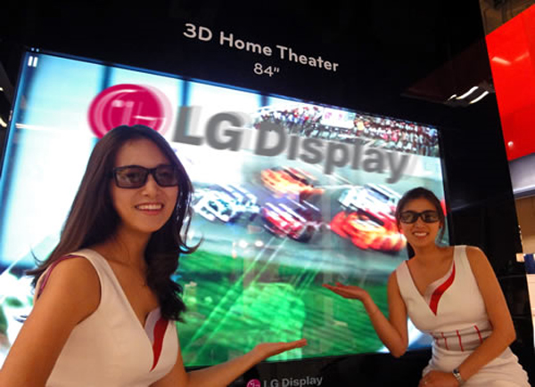LG Shows Of The World's Largest 3D Display