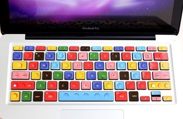 Lego MacBook Keyboard Decals
