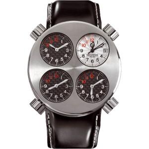 Meccaniche Veloci Quattro Valvole Titanium Watch
