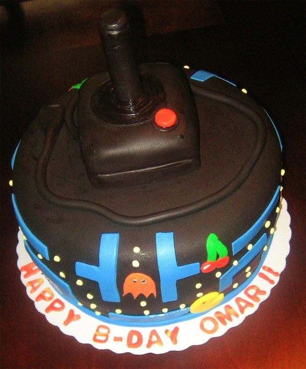 Awesome Pac-Man Atari Birthday Cake